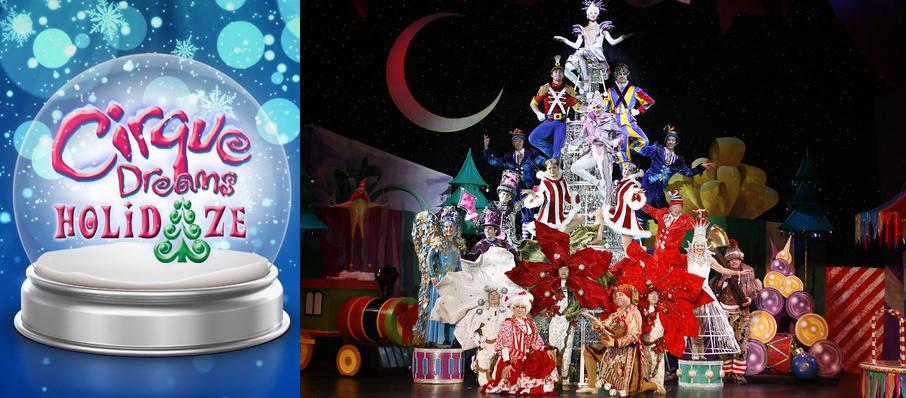 Cirque Dreams Holidaze at James Knight Center