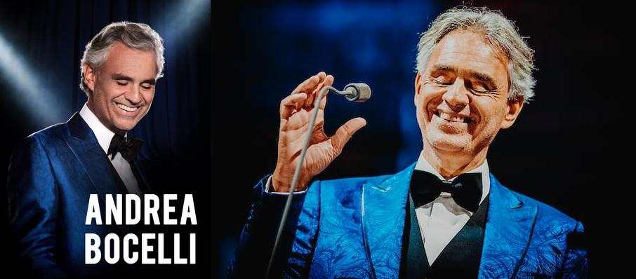 Andrea Bocelli at American Airlines Arena