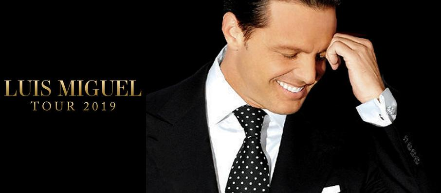 Luis Miguel at American Airlines Arena