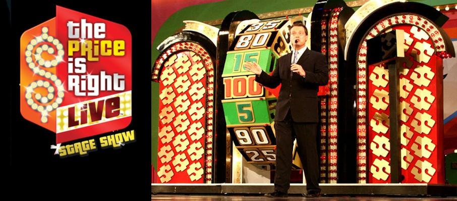 The Price Is Right - Live Stage Show at Ziff Opera House