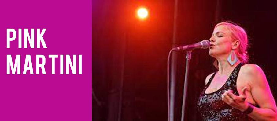 Pink Martini at Knight Concert Hall