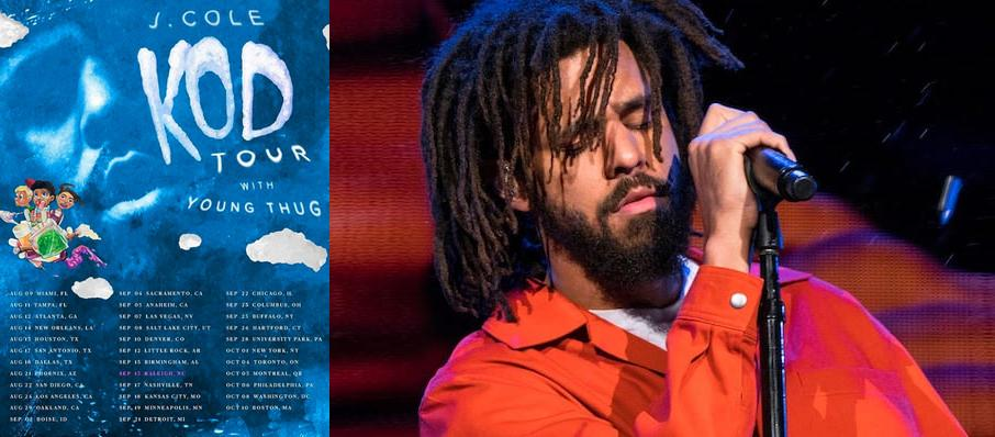 J. Cole at American Airlines Arena