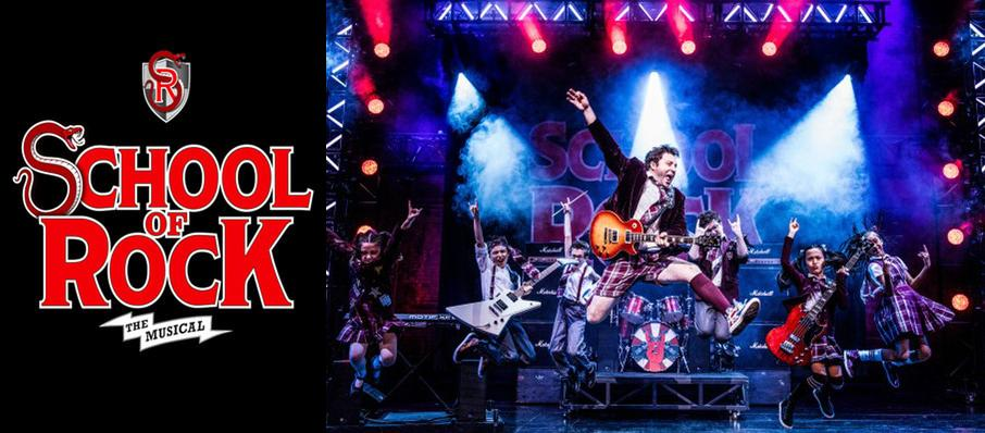 School of Rock at Ziff Opera House