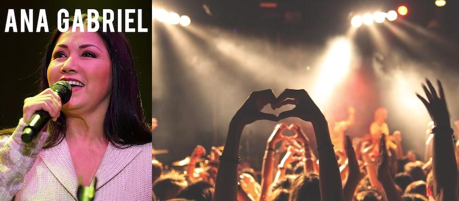 Ana Gabriel at American Airlines Arena
