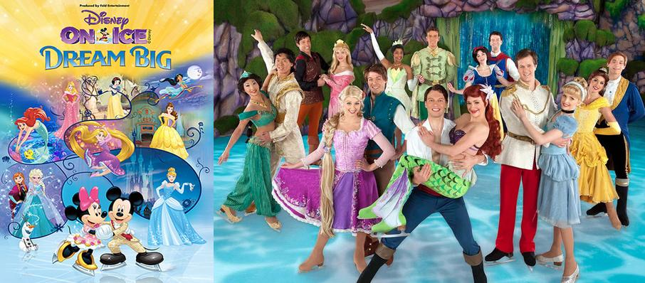 Disney On Ice: Dream Big at American Airlines Arena
