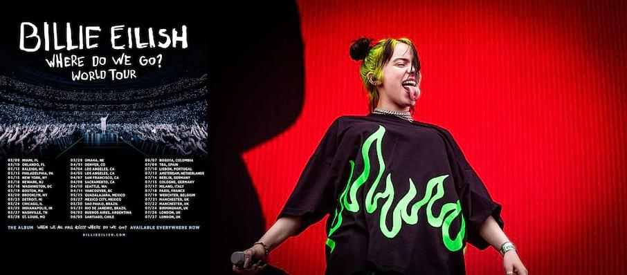 Billie Eilish at American Airlines Arena