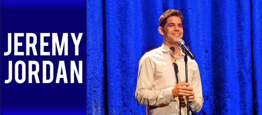 Jeremy Jordan at Aventura Arts & Cultural Center