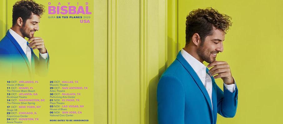 David Bisbal at Fillmore Miami Beach