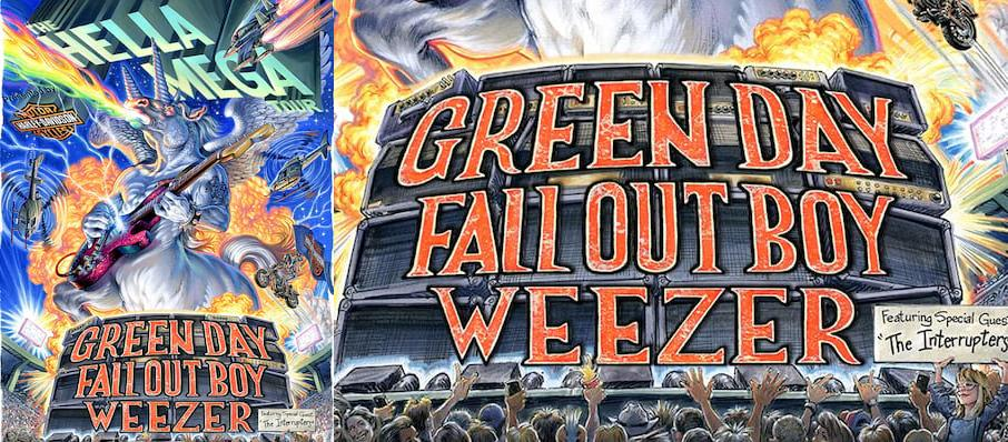 Green Day with Fall Out Boy and Weezer at Hard Rock Stadium