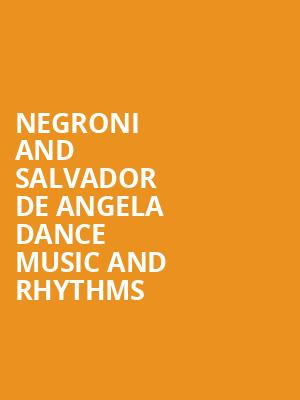 Negroni and Salvador de Angela Dance Music and Rhythms at Miami Dade County Auditorium