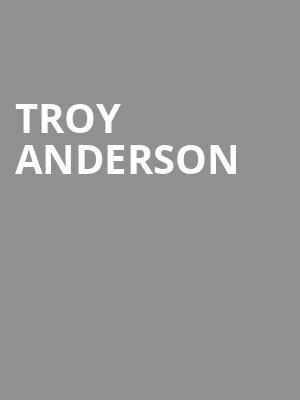 Troy Anderson at Aventura Arts & Cultural Center