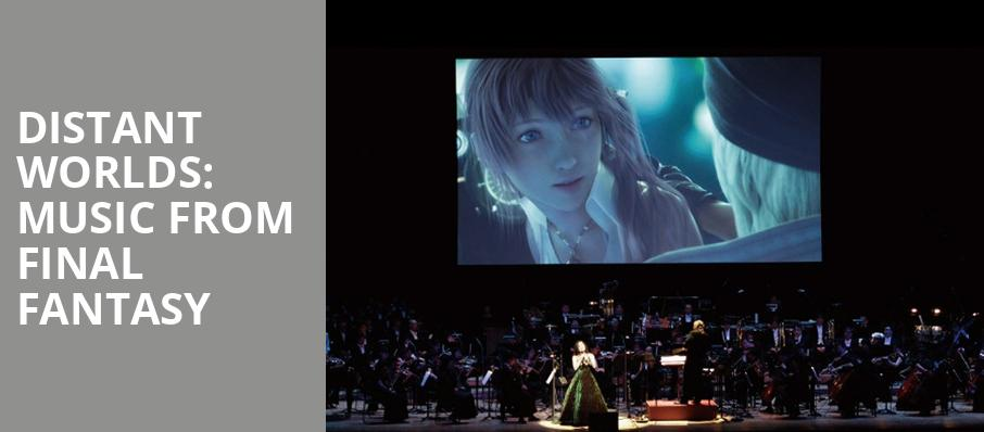 Distant Worlds Music From Final Fantasy, Knight Concert Hall, Miami