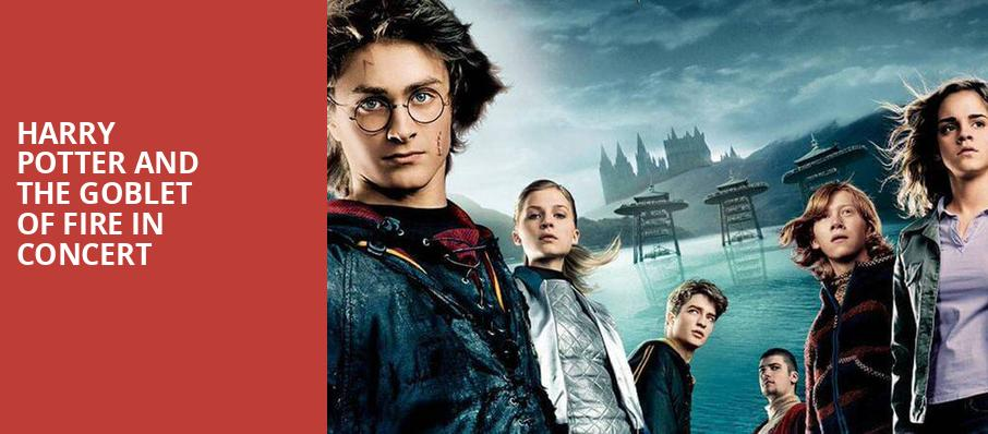 Harry Potter and the Goblet of Fire in Concert, Knight Concert Hall, Miami