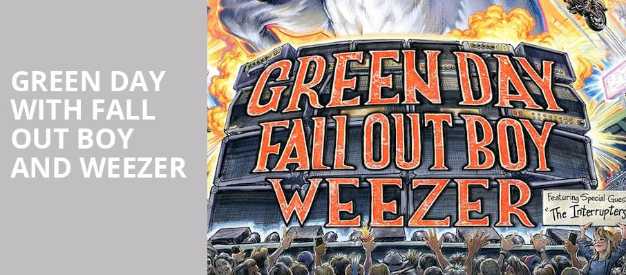 Green Day with Fall Out Boy and Weezer, Hard Rock Stadium, Miami