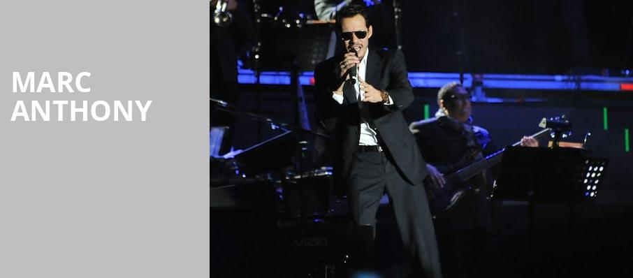 Marc Anthony, American Airlines Arena, Miami