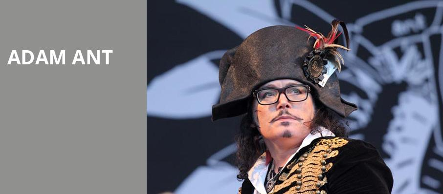 Adam Ant, Fillmore Miami Beach, Miami